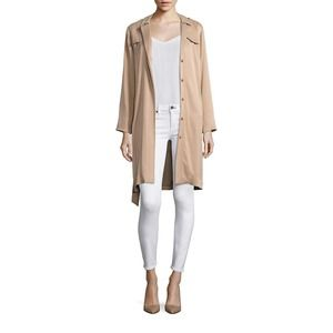 L'AGENCE Harlow Belted Waist  Trench Coat